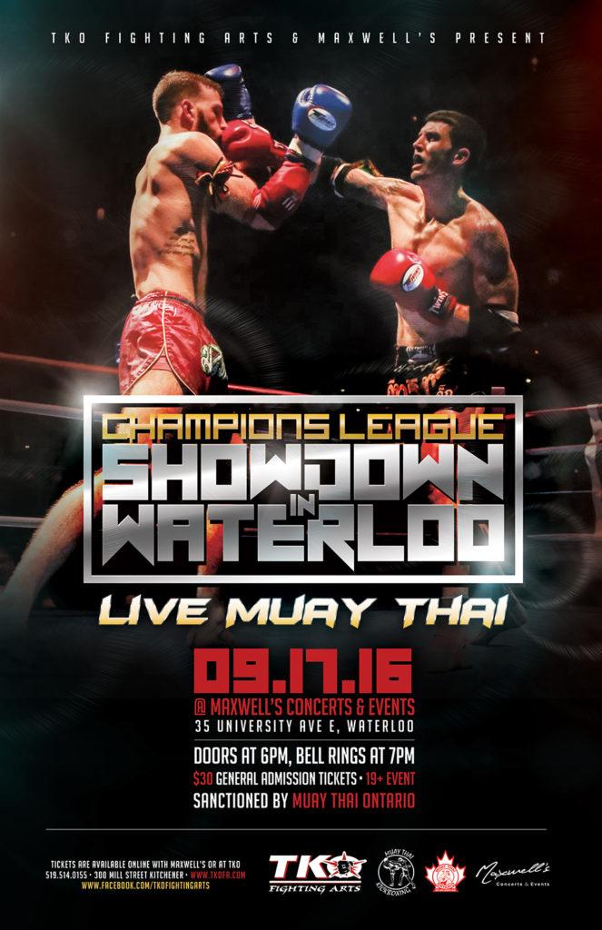 Muay Thai Kitchener Waterloo