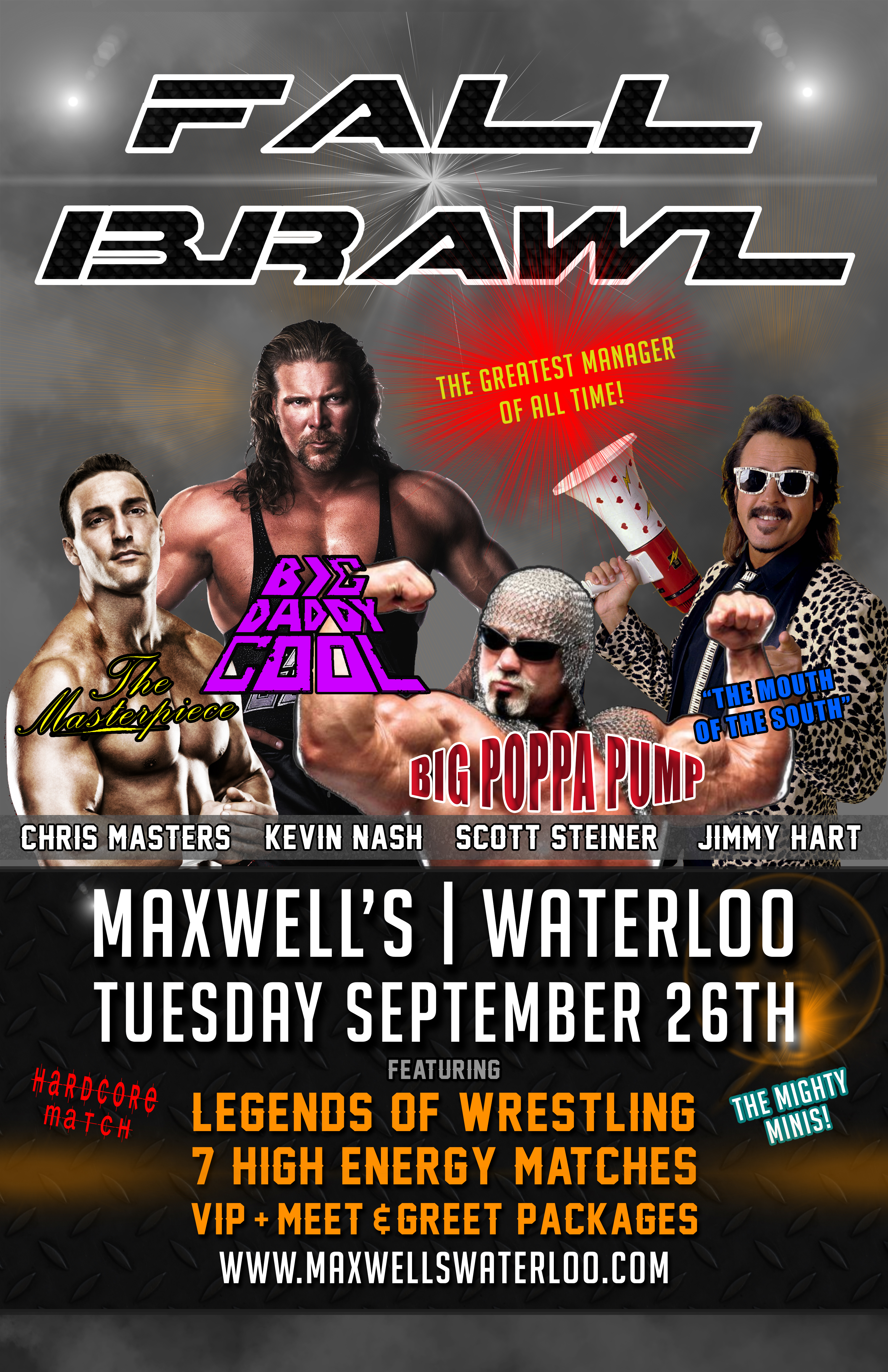 Fall Brawl Maxwells Concerts And Events